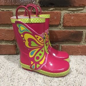 Western Chief Butterfly Rainboots Sz 11